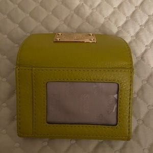 Michael Kors Bags - Michael Kors Chartreuse Wallet - AUTHENTIC